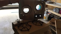 White 2 burner gas stove new never installed Calgary, T1Y 1L7
