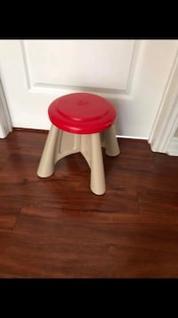 Red Step 2 stool euc