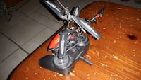 black rc helicopter