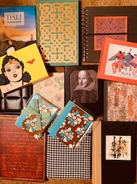 Lot of Journal Notebooks and Notecards