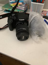 Canon eos Rebel T6i with lens (2)
