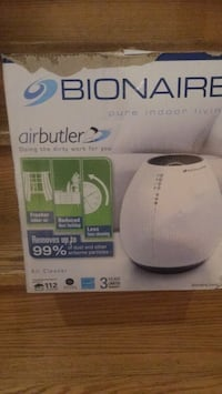 White and gray honeywell humidifier  Brampton, L6P 1B3