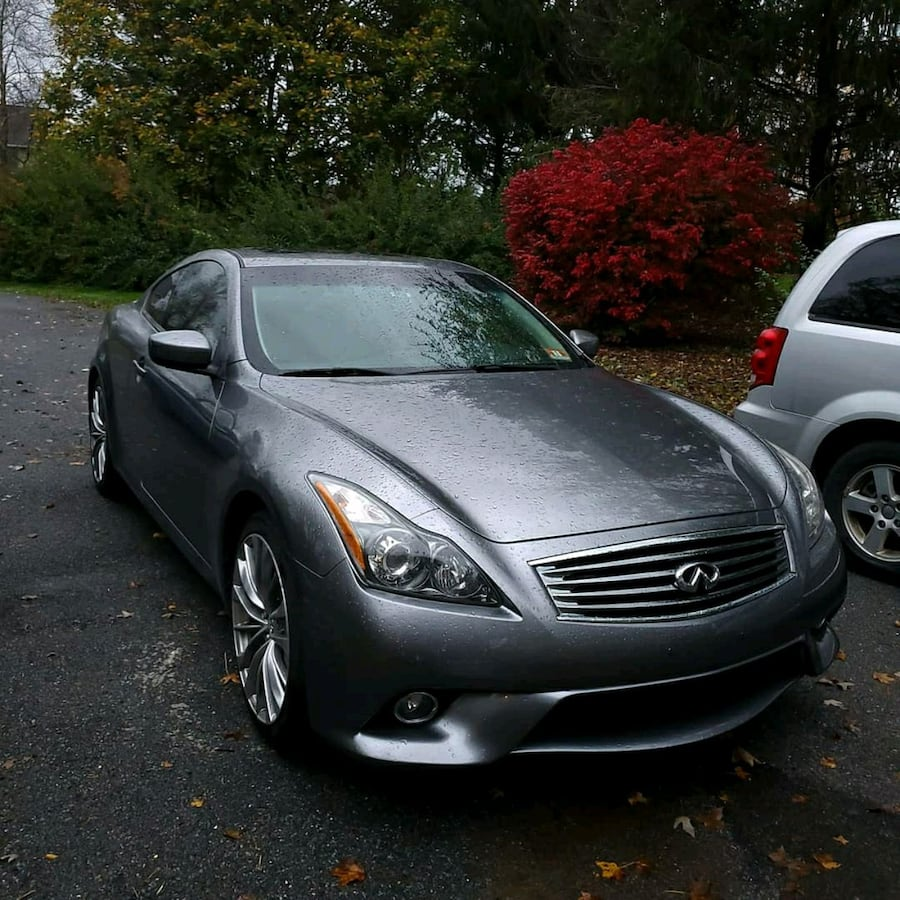 2012 Infiniti G Coupe 37 Coupe Sport 6MT