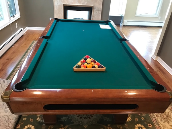 Cool Hawthorn Brunswick 8 Pool Table Download Free Architecture Designs Scobabritishbridgeorg