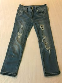 American eagle pants ripped jeans size 0 Athens, 30606