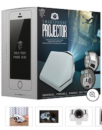 Projector for Smart Phone Photos - used once, perfect packaging