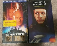 STAR TREK VHS TAPES NEW Surrey, V3S 8K7