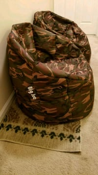 Camo Bean bag chairs - $20/each or $35/both