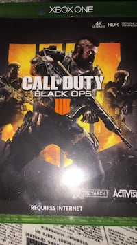 Call of duty black ops iii ps4 game case Manassas, 20109