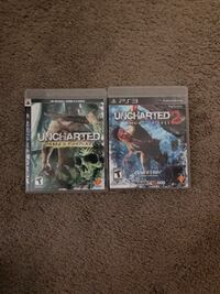 two Sony PS3 game cases Watauga, 76148