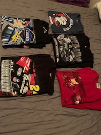 Nascar T-Shirts and a Snoopy Shirt