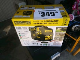 Champion 2000 watt generator brand new