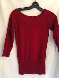 Le Chateau stretch knit top, 3/4 sleeves, XS - $10 Mississauga