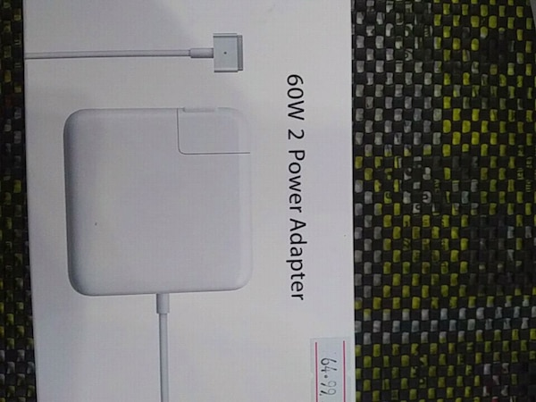"""Macbook charger """"T"""" shaped pin"""