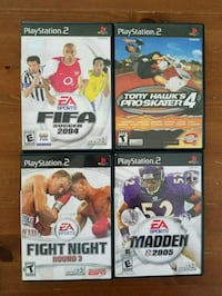 PS2 Games, $8 For The Lot.  Smithtown