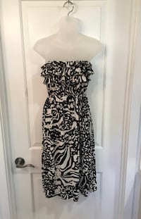 XL Black & White Strapless Dress Phoenix, 85020