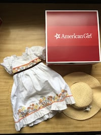 American girl doll Julie's birthday dress and accessories  Silver Spring, 20901