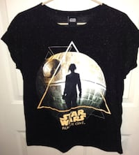 Star Wars Rogue One Ladies T Shirt Size XL 544 km