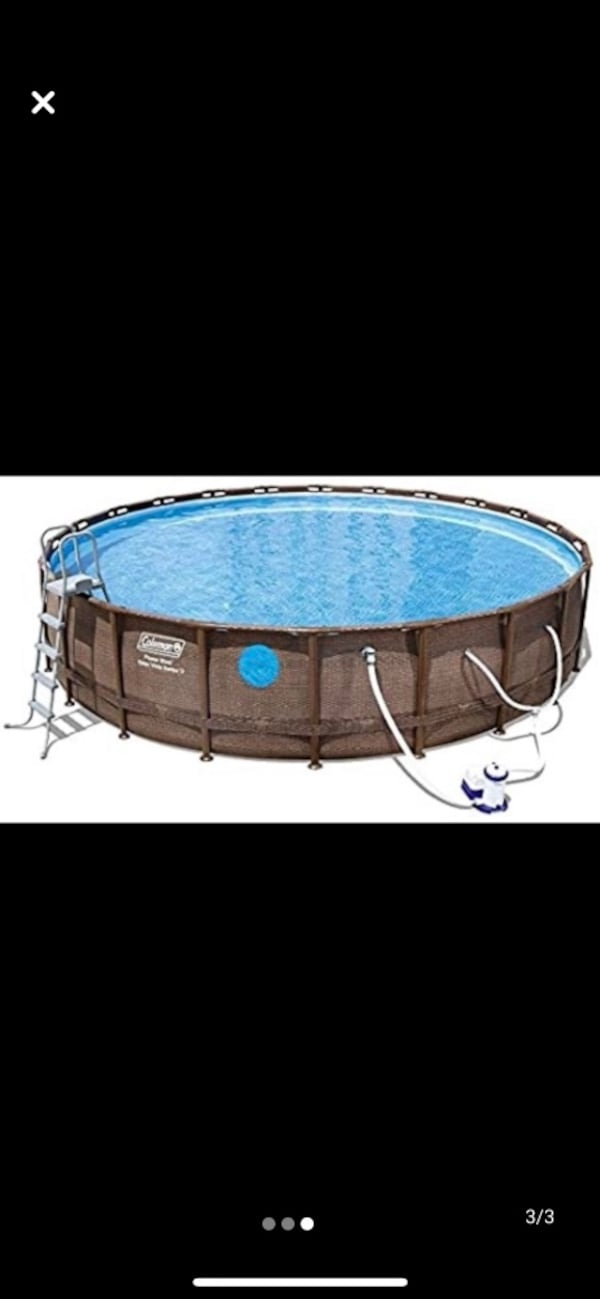 Above ground swimmimg pool with all accesories 57fdf6d7-6e23-4eb9-8d38-15ecc5896095