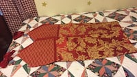 Table runner or dresser scarfs  72 inches long by 11inches wide. That is 2 runners  North Smithfield, 02896