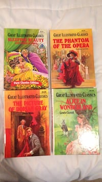 Great Illustrated Classic book collections Ottawa, K0A 1L0