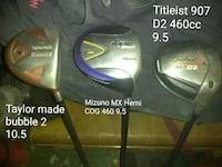 Taylor Made Bubble 2 10.5, Mizuno MX Hemi Cog 460 Bethlehem, 18018