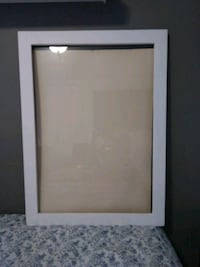 rectangular white wooden photo frame Aurora, L4G 7L5