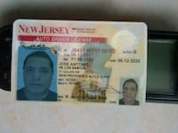 New Jersey Driving Licence