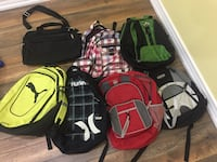 Variety of bags and bag packs Vaughan, L4L 1C2