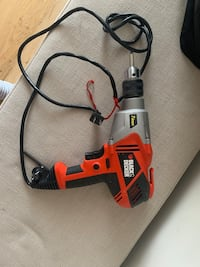 black and decker 7 amp corded power drill