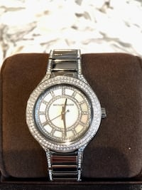 Michael Kors silver pave watch Toronto