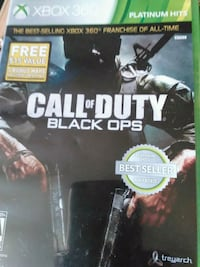 OG call of duty black ops (Xbox 360) Reno, 89503