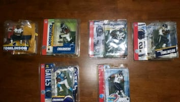 NFL chargers figurines