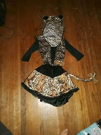 girls leopard costume  Donna, 78537