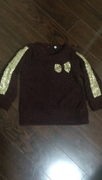 Baby girl top , size 1 year