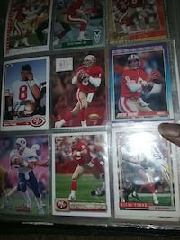 Nfl football trading cards