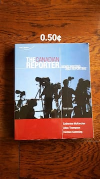 The Canadian Reporter: Writing in Canadian Media Toronto, M1W
