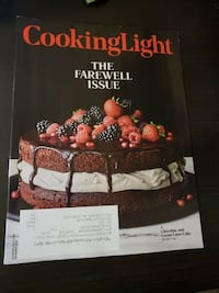 Cooking Light The Farewell Issue December 2018 Falls Church