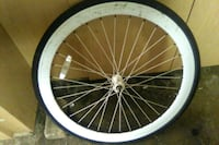white and black bicycle wheel Bakersfield, 93307