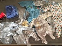 Whole lot of sleepwear and onesies 0-3m  Toronto, M9C 2A6