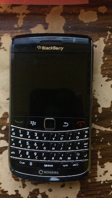 Blackberry bold, works perfectly. Rogers