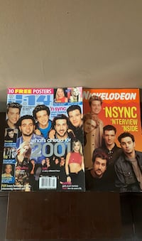 J-14 and Nickelodeon Magazine 2001 Alexandria, 22307