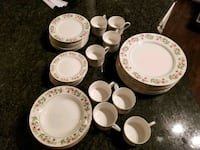 Gibson housewares complete set for 8