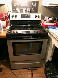 black and gray induction range oven Seymour, 37865