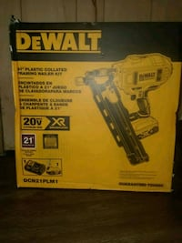 DeWalt cordless impact wrench box Annandale, 22003