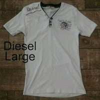 Diesel Mens Shirt size LARGE Only the Brave Edgewater, 32132