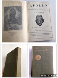 1924 Antique Book APOLLO Illustrated Manual of the History of Art Throughout The Ages Calgary, T2R 1K5