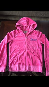 Girls Juicy Couture velour sz l hoodie Thunder Bay, P7G 2H3