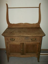 brown wooden cabinet with drawer Onalaska, 98570