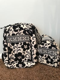 Vera Bradley Backpack with FREE Lunch Bag Granville, 43023